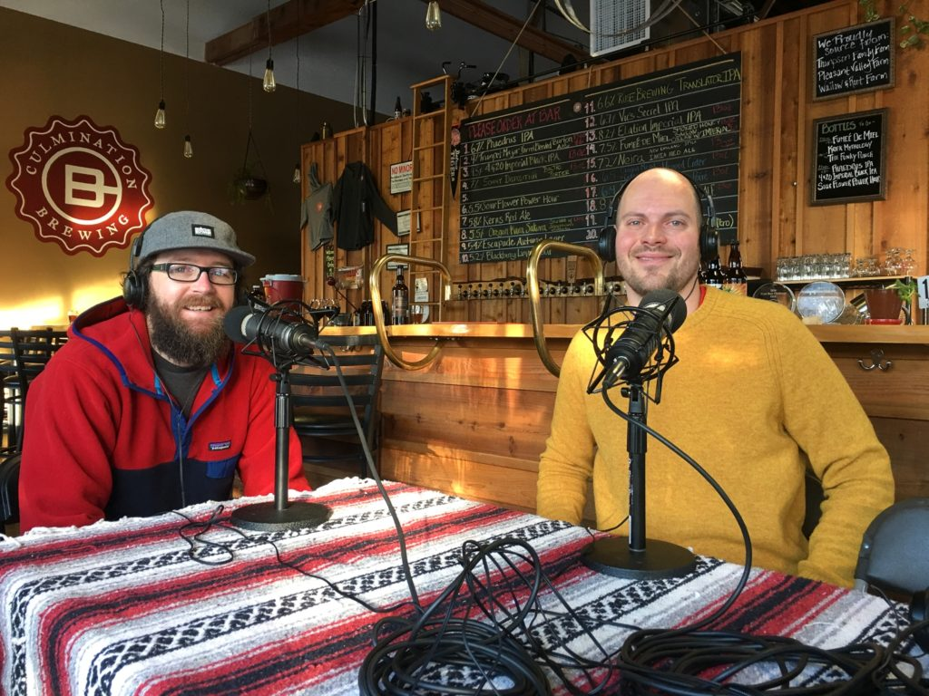 Base Camp Brewers Paul Thurston and Ross Putnam Collabofest 2017 - Portland Beer Podcast Episode 21