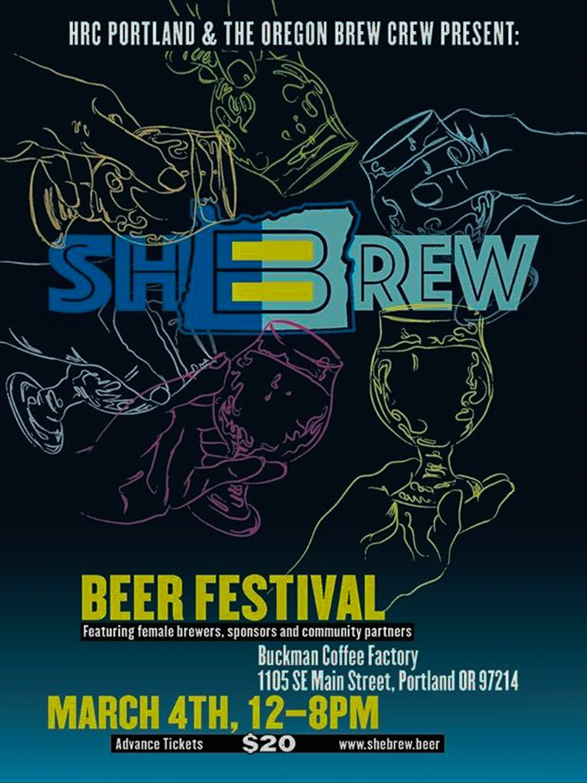 SheBrew Beer Festival Jenn McPoland and Shannon Scott - Portland Beer Podcast Episode 25