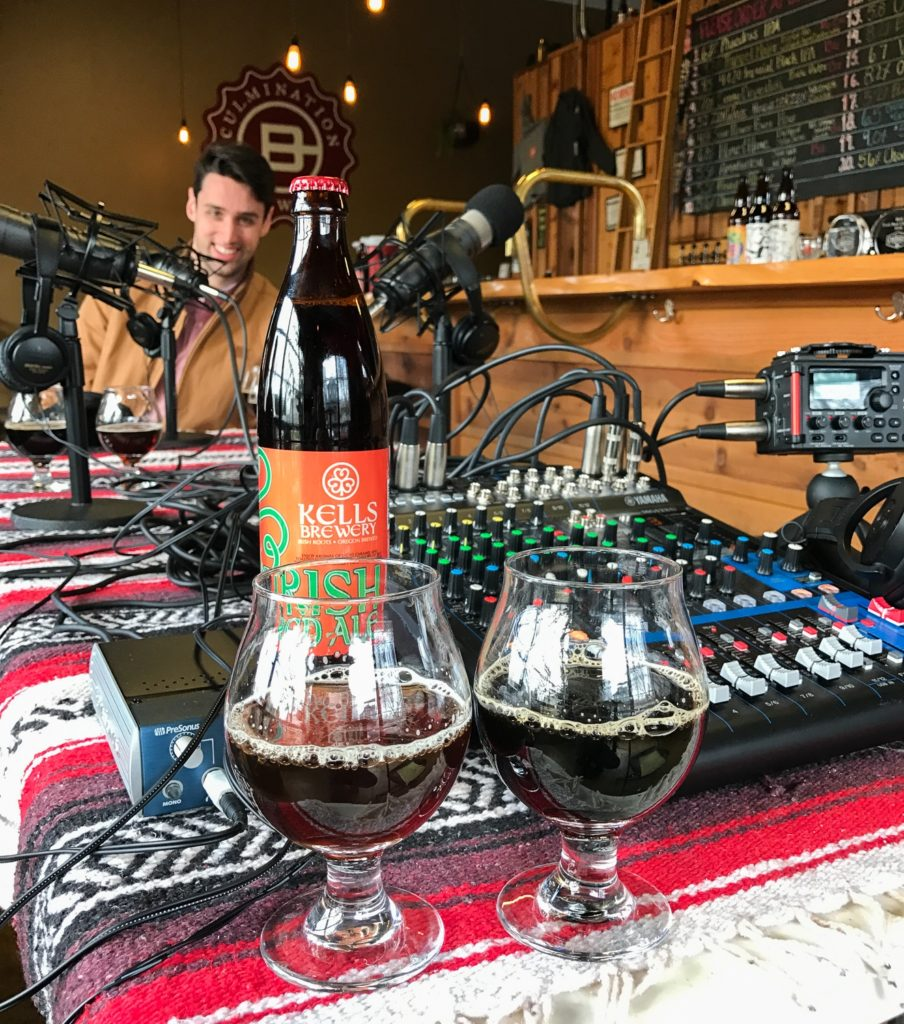 Irish Beer Festival Portland Garrett McAleese and Patrick Neal Barnes - Portland Beer Podcast Episode 29