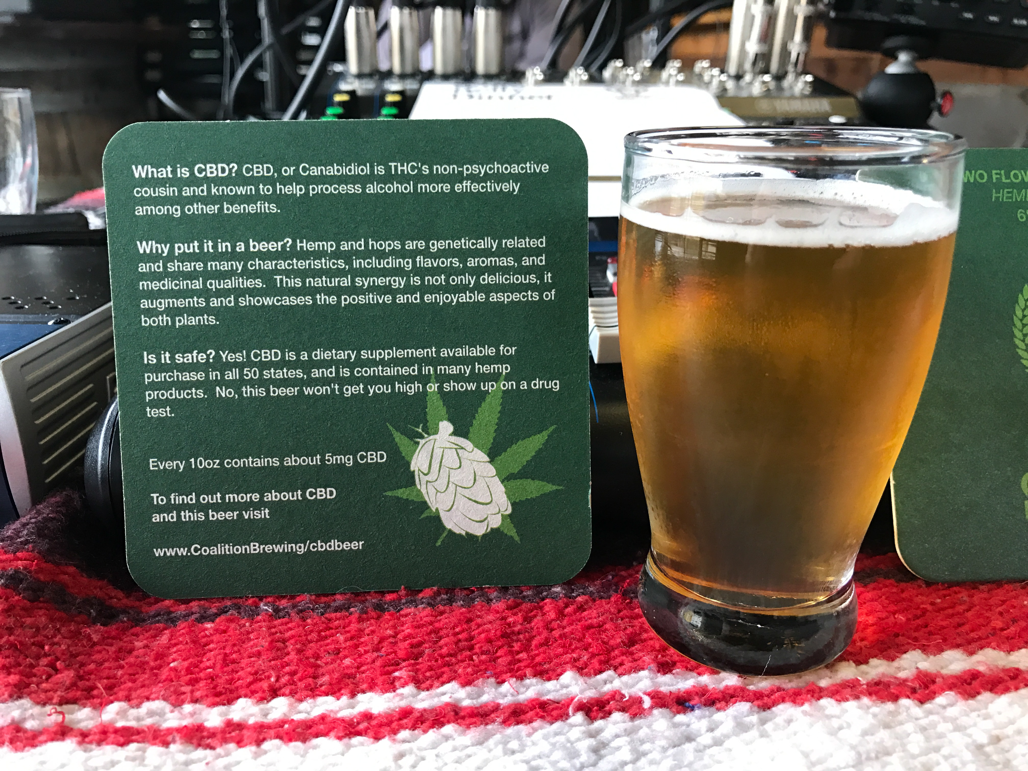 Two Flowers Dinner A Celebration of Hops and Hemp Coalition Brewing