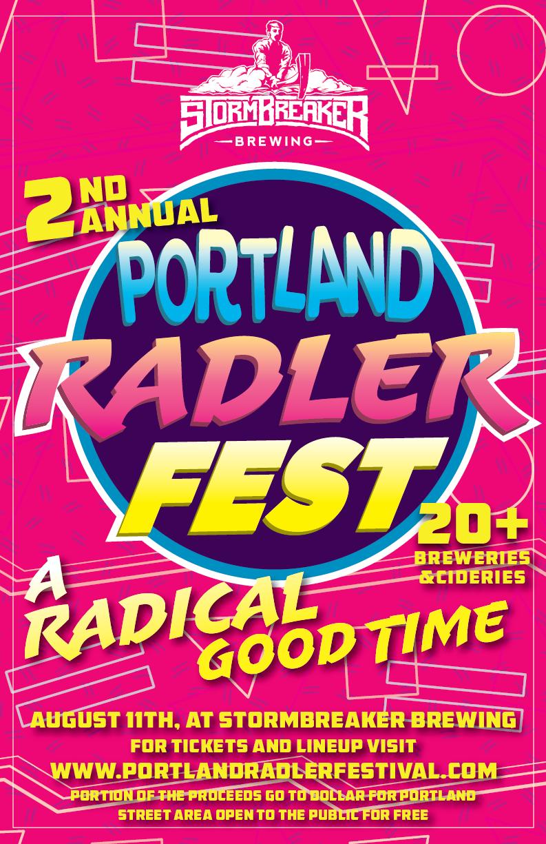 Portland Radler Festival 2018 Preview - Portland Beer Podcast episode 79 by Steven Shomler