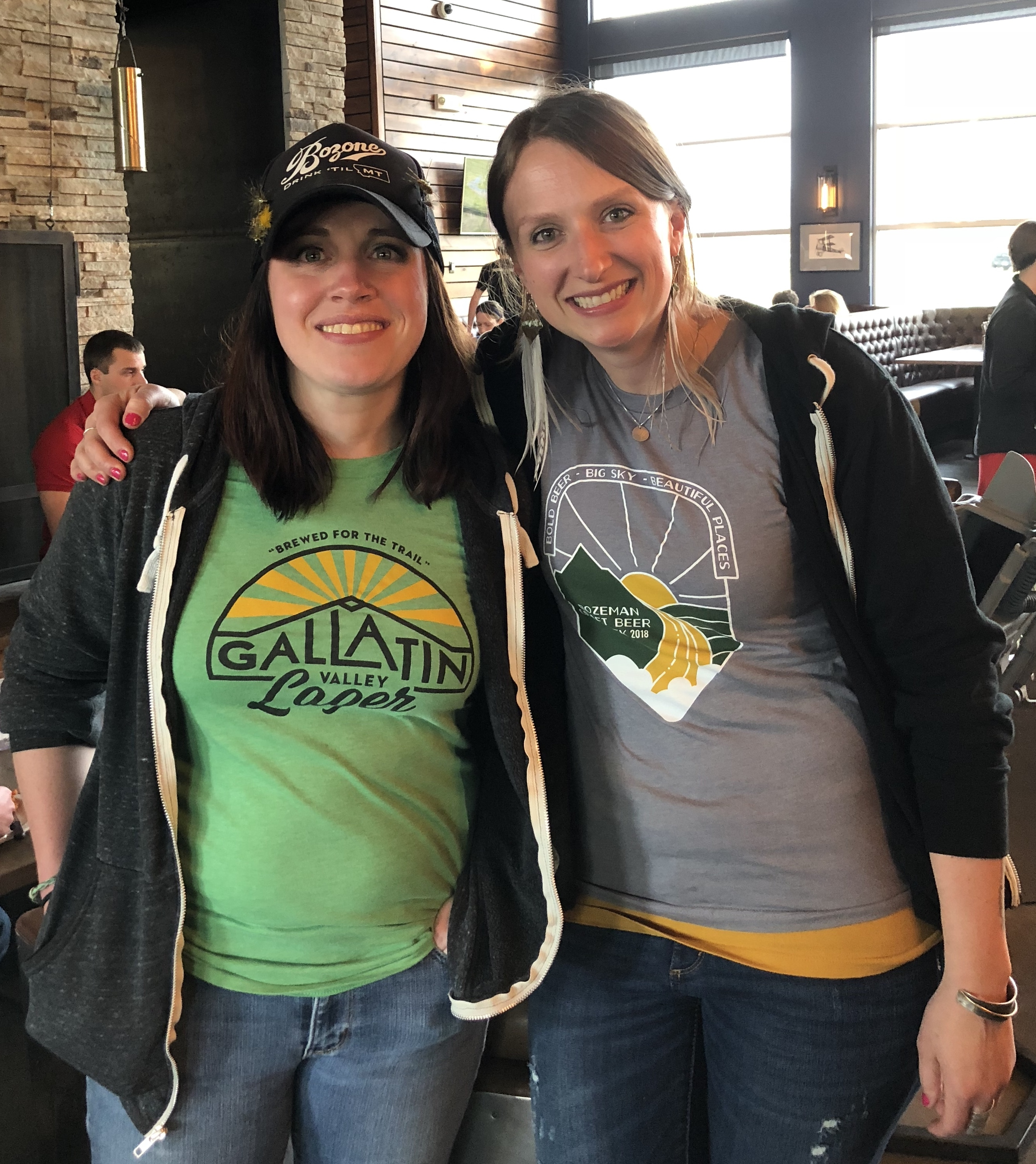 Jesse Bussard and Loy Maierhauser Co-founders of Bozeman Craft Beer Week - Portland Beer Podcast episode 82 by Steven Shomler