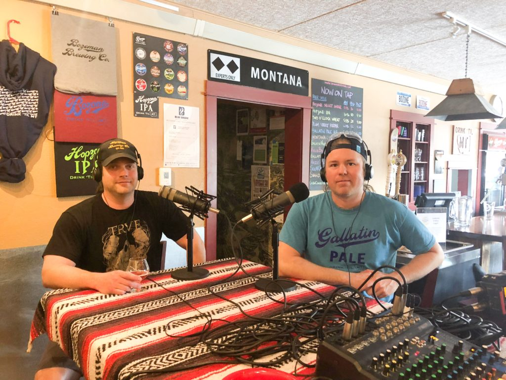 Bill Hyland and Ryan Beal and Bozeman Brewing Company - Portland Beer Podcast episode 85 by Steven Shomler