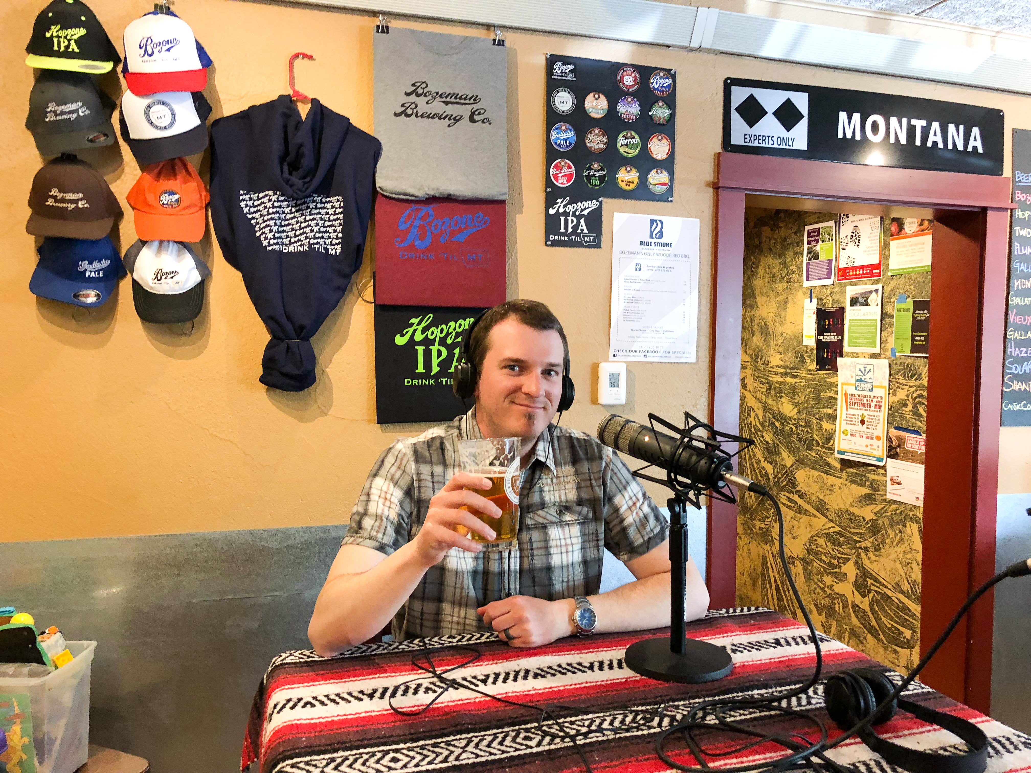 Mark Bergstrom Bozeman Brewing Company - Portland Beer Podcast episode 86 by Steven Shomler