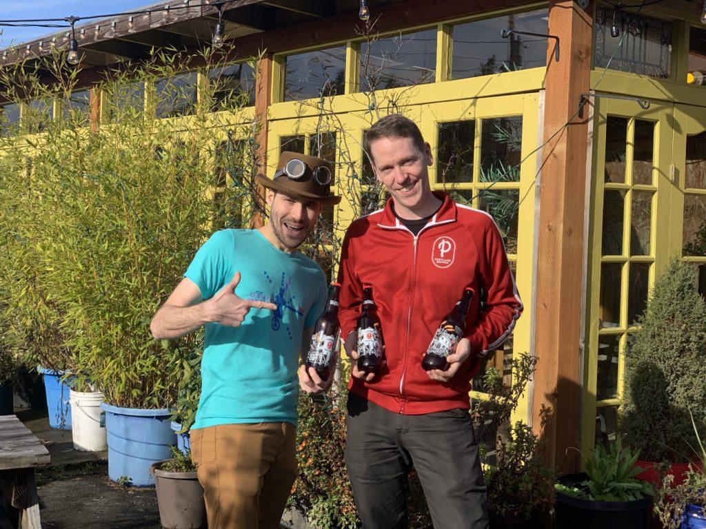 The Unipiper AKA Brian Kidd & Ryan Pappe Head Brewer Portland Brewing Co. - Portland Beer Podcast Episode 98 by Steven Shomler