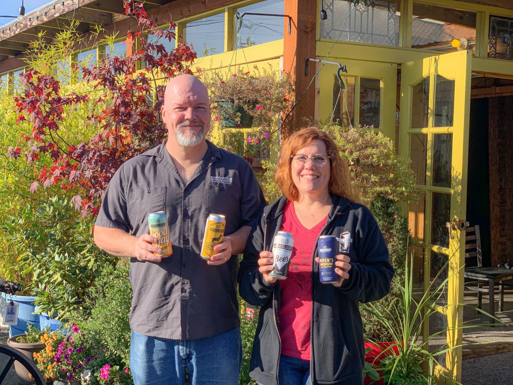 Lin and Don Anderson Vanguard Brewing - Portland Beer Podcast Episode 105 by Steven Shomler