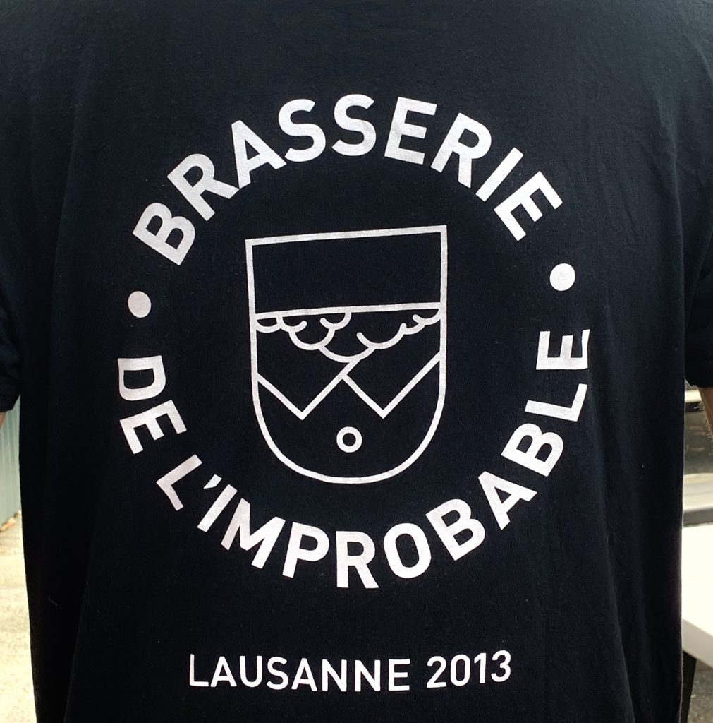 Noé de Preux Brasserie de l'Improbable - Portland Beer Podcast Episode 106 by Steven Shomler