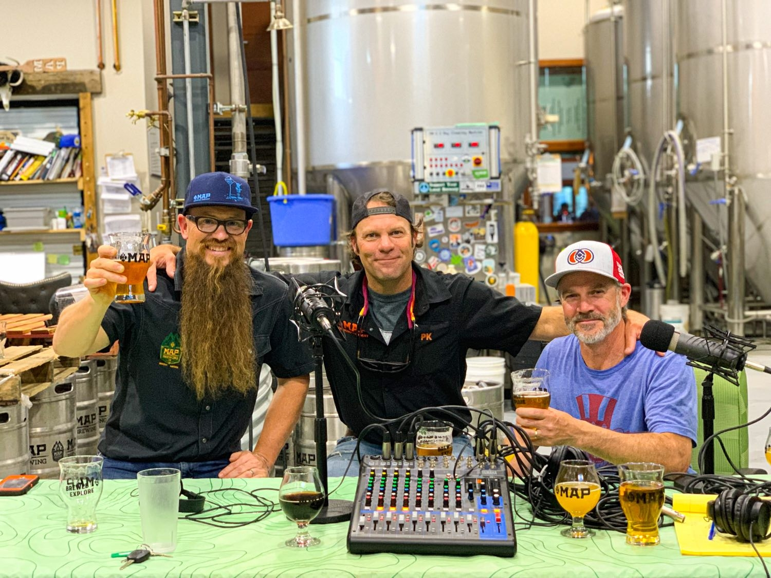 "Doug Child, Patrick ""PK"" Kainz, Shenan ""Dash"" Rodman Map Brewing – Portland Beer Podcast Episode 114 by Steven Shomler"