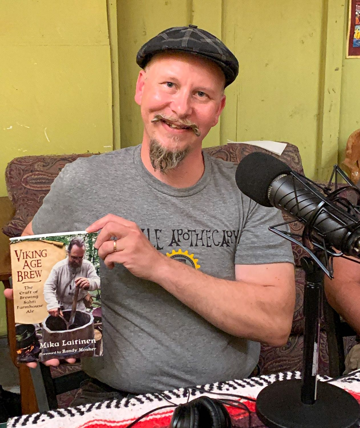 Mika Laitinen Author Viking Age Brew -- The Craft of Brewing Sahti Farmhouse Ale – Portland Beer Podcast Episode 115 by Steven Shomler