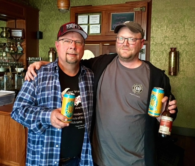 Larry Bell Founder of Bell's Brewery and Upper Hand Brewery - Portland Beer Podcast Episode 7 by Steven Shomler
